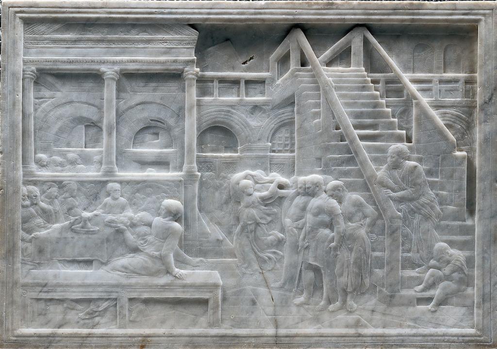 DONATELLO, Le festin d'Hérode © Palais des Beaux-Arts de Lille, Expointhecity