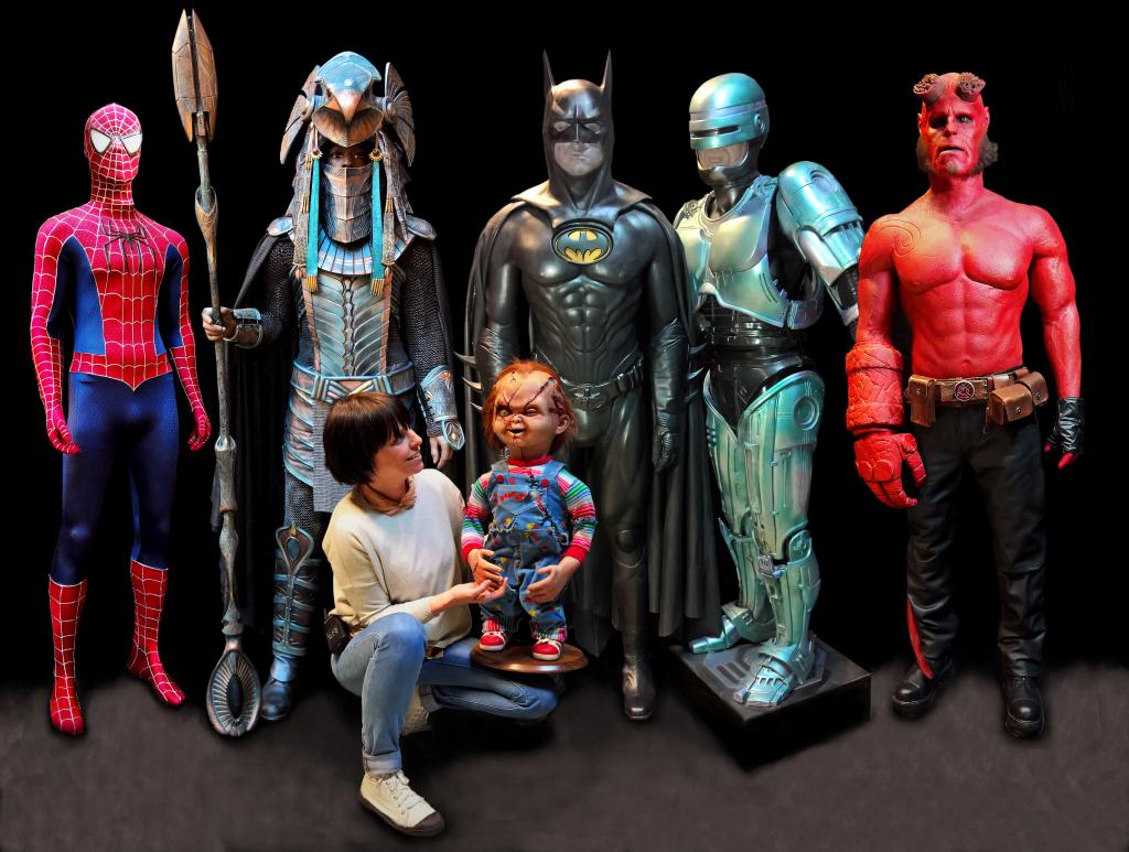 5 héros + Laurie+ Chucky