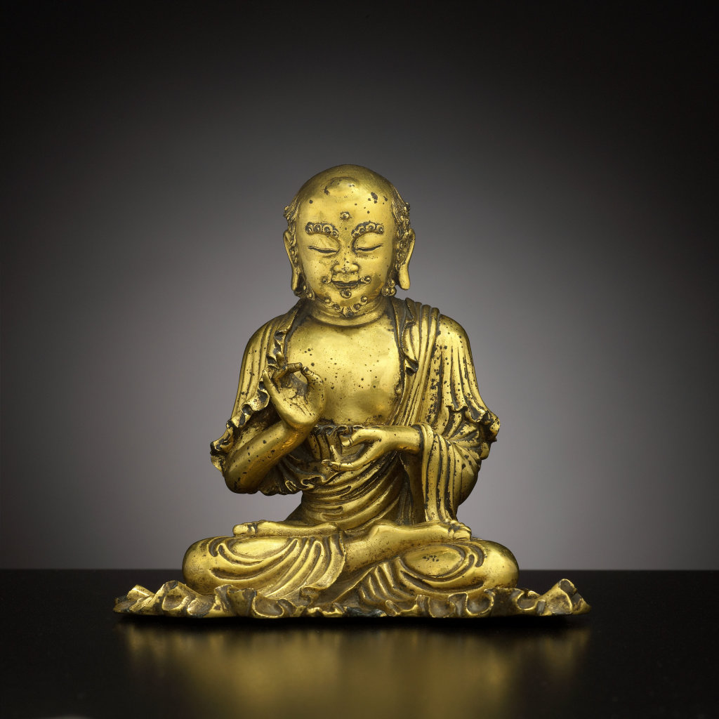L'arhat Bhadra, disciple de Buddha