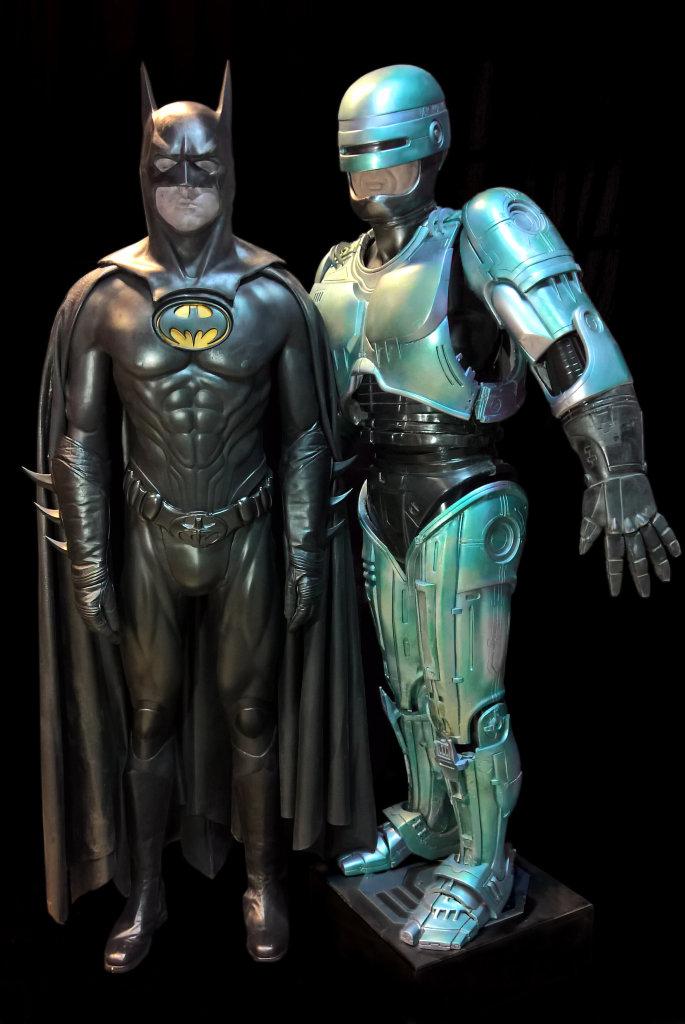 Batman et Robocop