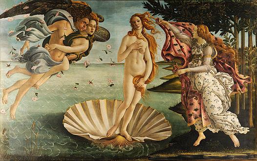 Venus, Botticelli, Cent