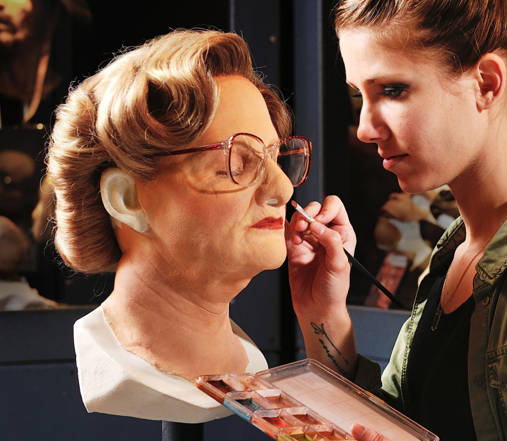 Faustina De Susa maquillage Mme Doubtfire