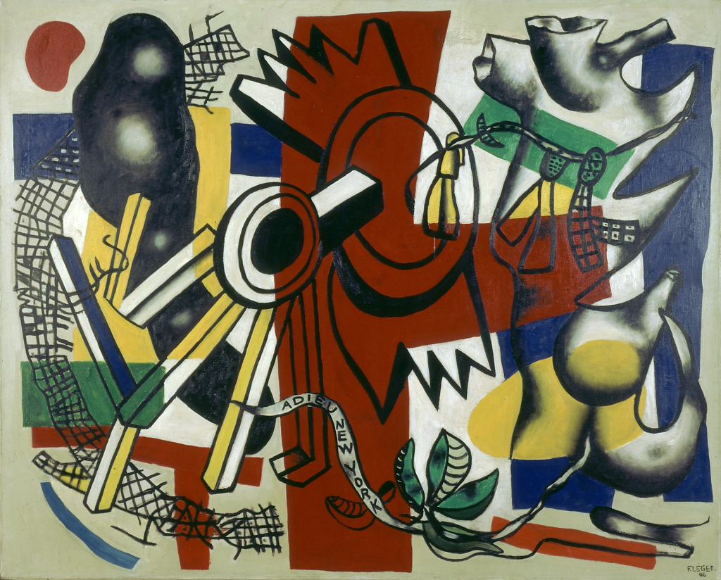 Fernand Leger, Adieu new York, 1946 - Le Beau est partout, Fernand Leger au Centre Pompidou Metz