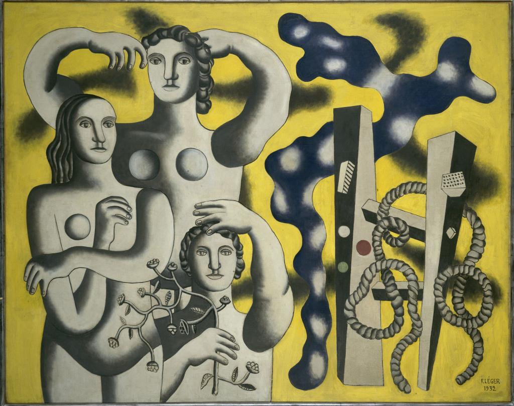 Composition aux trois figures
