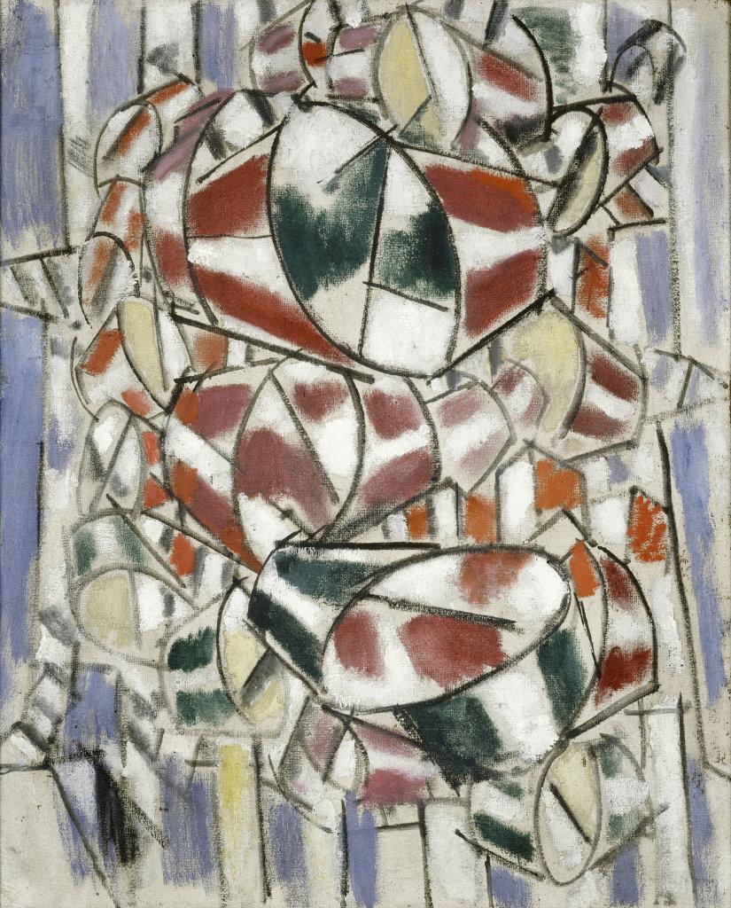 Fernand Leger, Contraste de formes, 1913 - Le Beau est partout, Fernand Leger au Centre Pompidou Metz