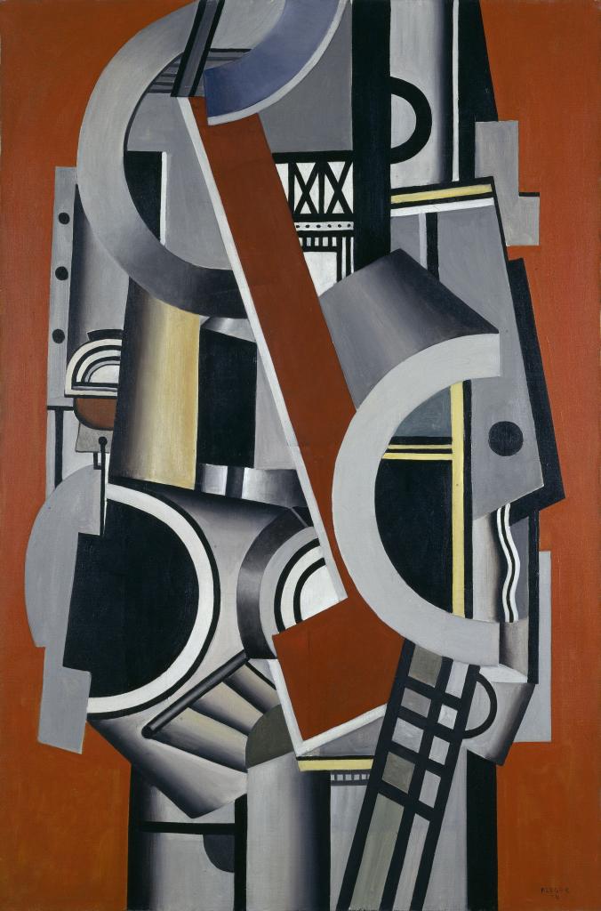 Fernand Leger, Element mecanique, 1924 - Le Beau est partout, Fernand Leger au Centre Pompidou Metz