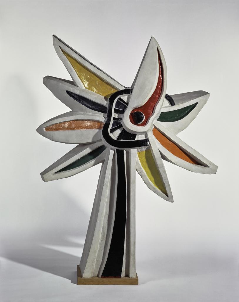 Fernand Leger, La Fleur polychrome, 1952 - Le Beau est partout, Fernand Leger au Centre Pompidou Metz