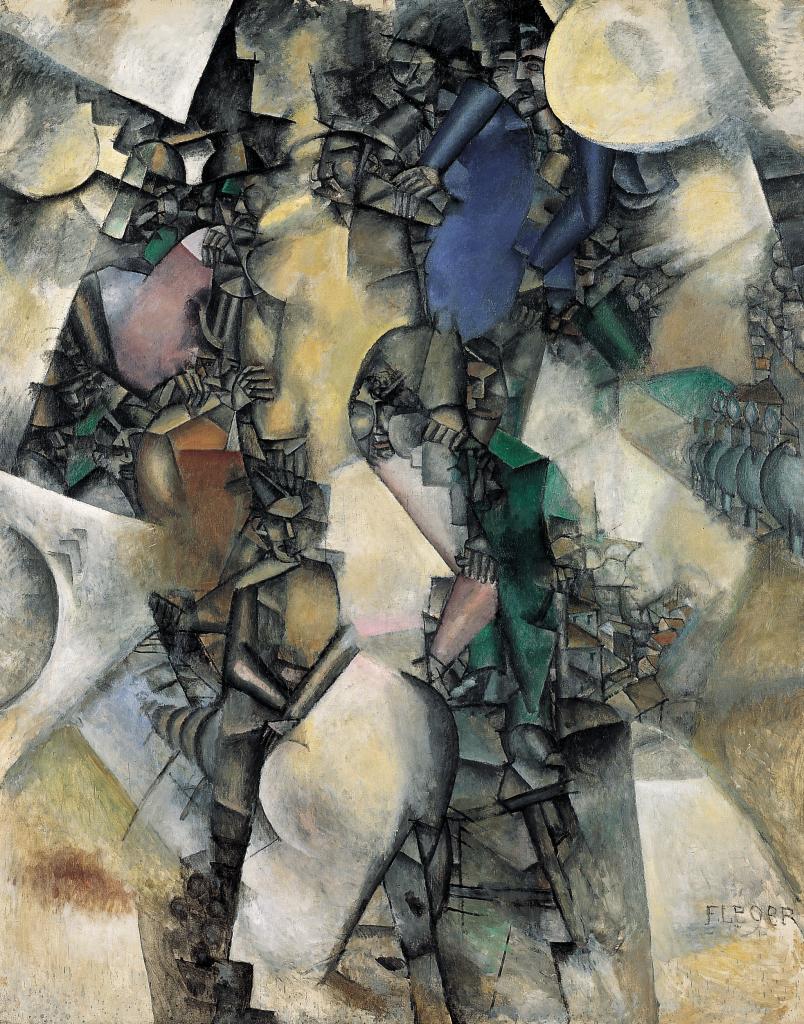 Fernand Leger, La Noce, 1911 - Le beau est partout au Centre Pompidou Metz