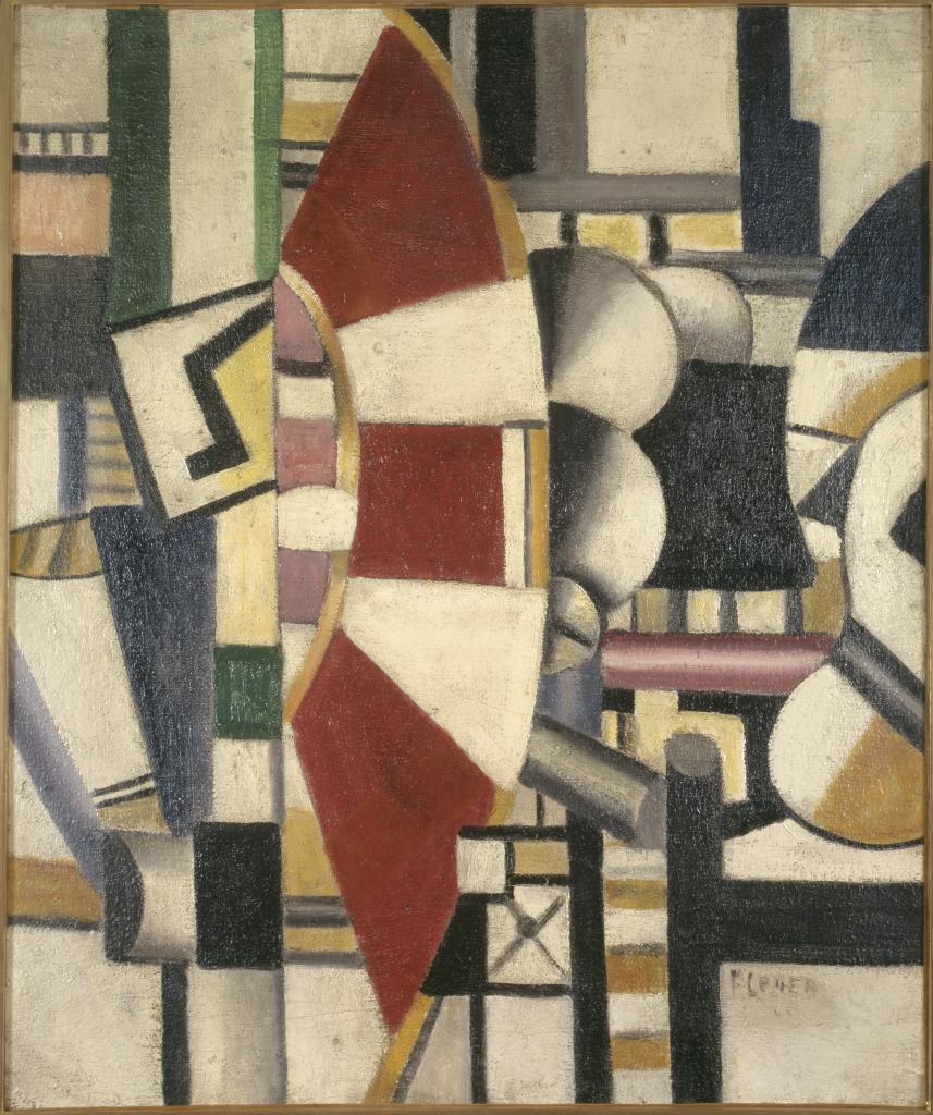 Fernand Leger, La roue rouge, 1920 - Le Beau est partout, Fernand Leger au Centre Pompidou Metz