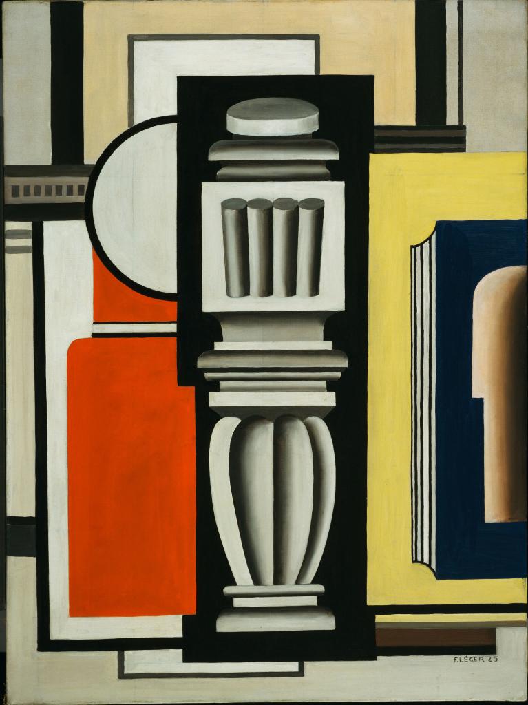 Fernand Leger, Le Balustre, 1925 - Le Beau est partout, Fernand Leger au Centre Pompidou Metz