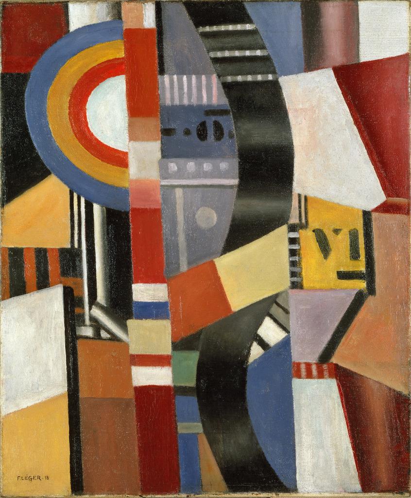 Fernand Leger, Le Disque, 1918 - Le Beau est partout, Fernand Leger au Centre Pompidou Metz
