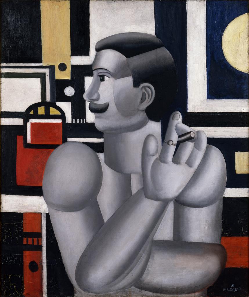 Fernand Leger, Le mecanicien,1918 - Le Beau est partout, Fernand Leger au Centre Pompidou Metz