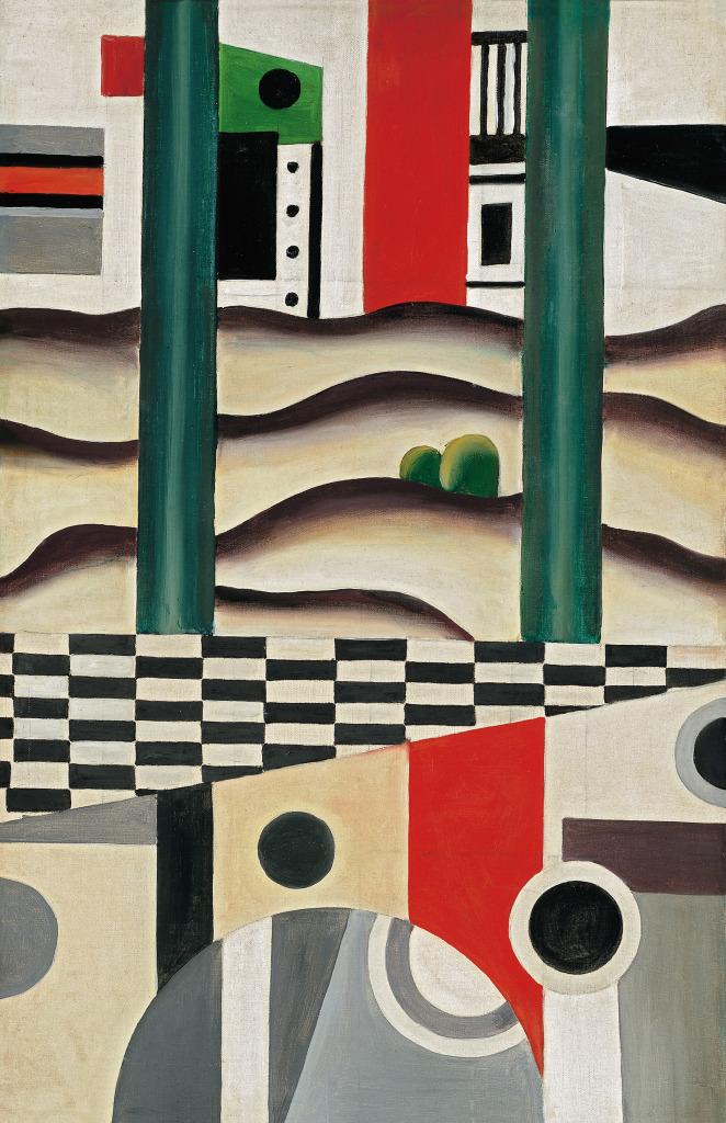 Fernand Leger, Le Pont, 1923 - Le Beau est partout, Fernand Leger au Centre Pompidou Metz