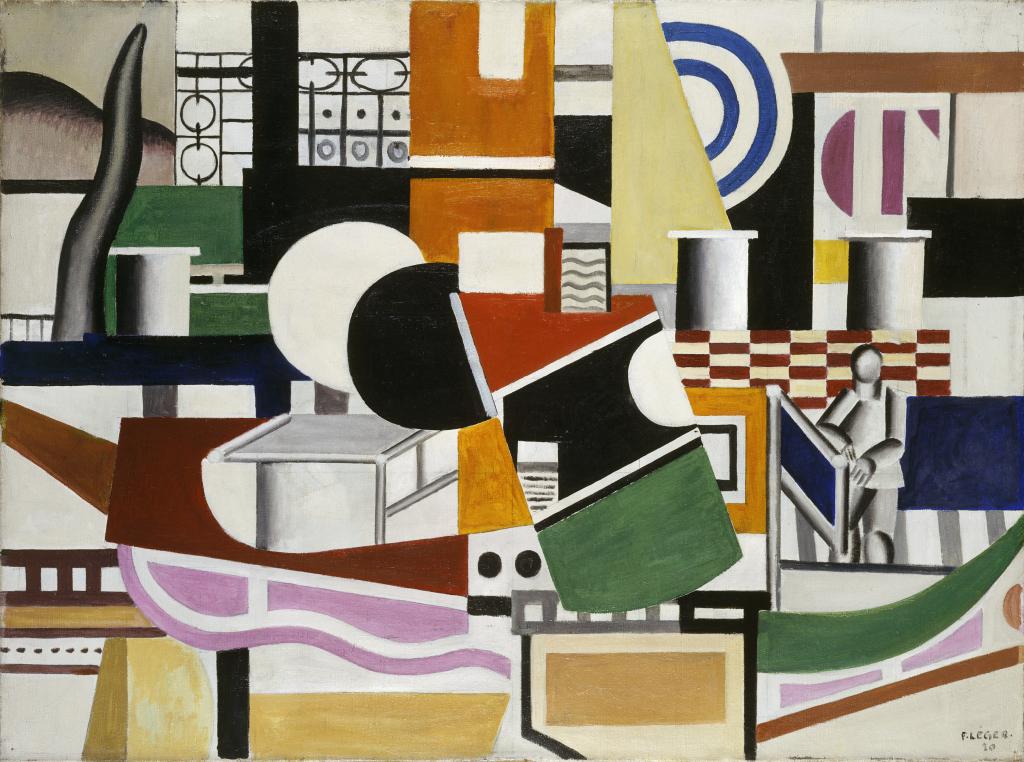 Fernand Leger, Le pont du remorqueur, 1920 - Le Beau est partout, Fernand Leger au Centre Pompidou Metz