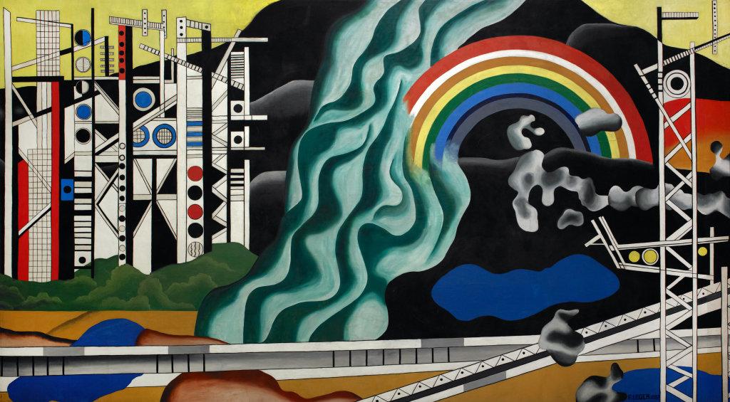 Fernand Leger, Le Transport des forces, 1937 - Le Beau est partout, Fernand Leger au Centre Pompidou Metz