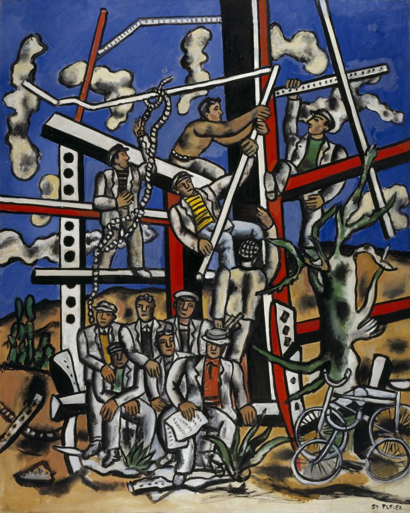 Fernand Leger, Les constructeurs, 1950 - Le Beau est partout, Fernand Leger au Centre Pompidou Metz