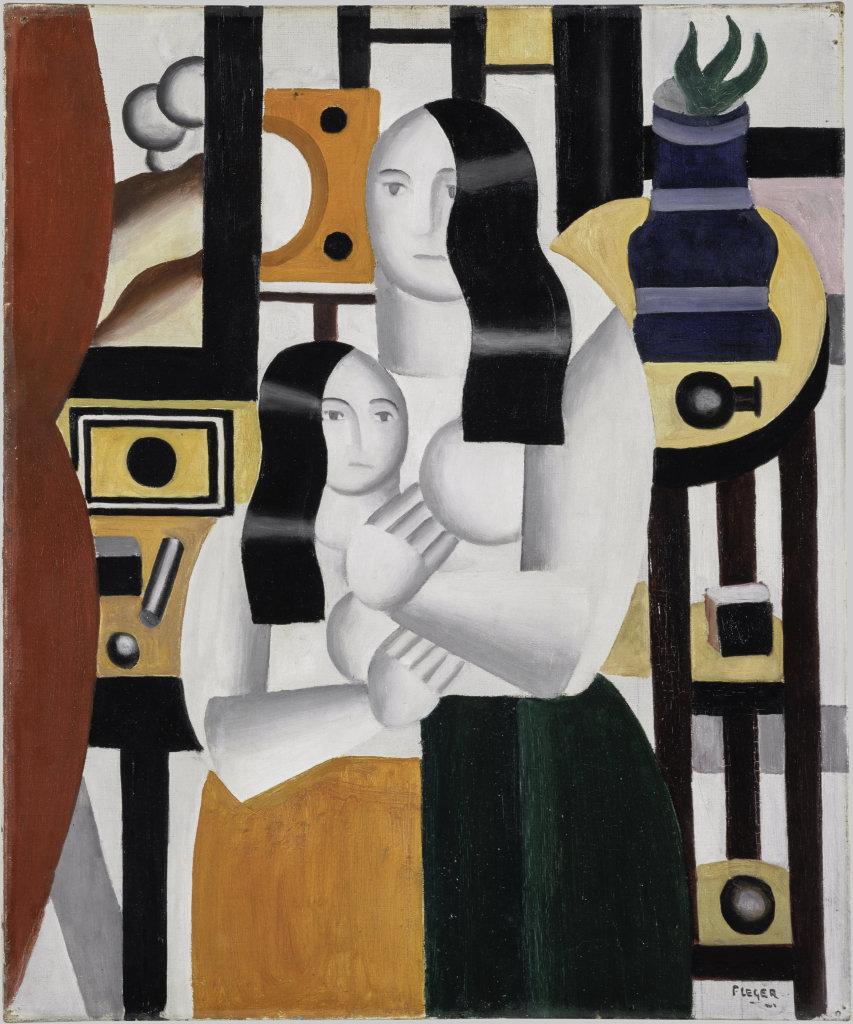 Fernand Leger, Les deux femmes debout, 1918 - Le Beau est partout, Fernand Leger au Centre Pompidou Metz