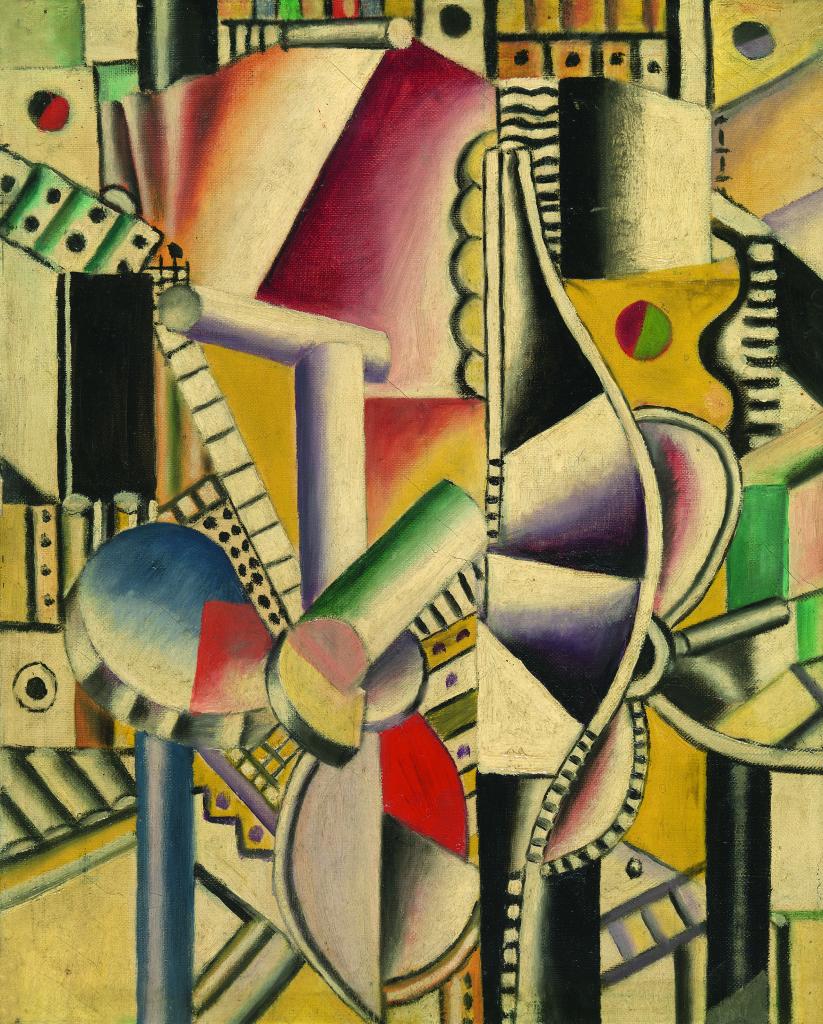 Fernand Leger, Les helices,1918 - Le Beau est partout, Fernand Leger au Centre Pompidou Metz