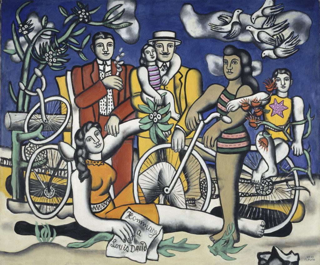 Fernand Leger, Les Loisirs-Hommage a Louis David, 1948 - 1949 - Le Beau est partout, Fernand Leger au Centre Pompidou Metz