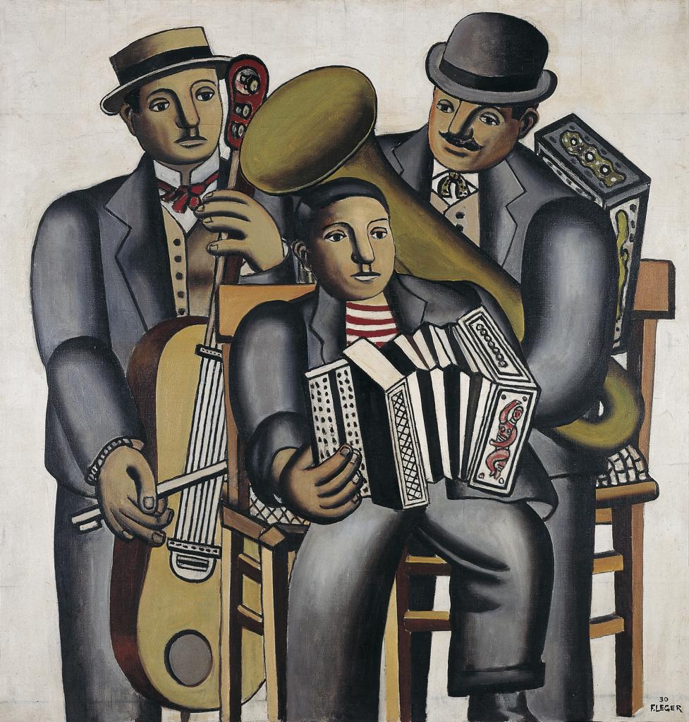 Fernand Leger, Les trois musiciens, 1930 - Le Beau est partout, Fernand Leger au Centre Pompidou Metz