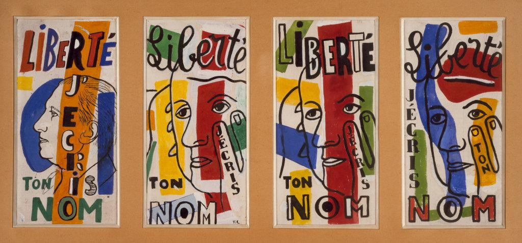 Fernand Leger, Liberte, 1953 - Le Beau est partout, Fernand Leger au Centre Pompidou Metz