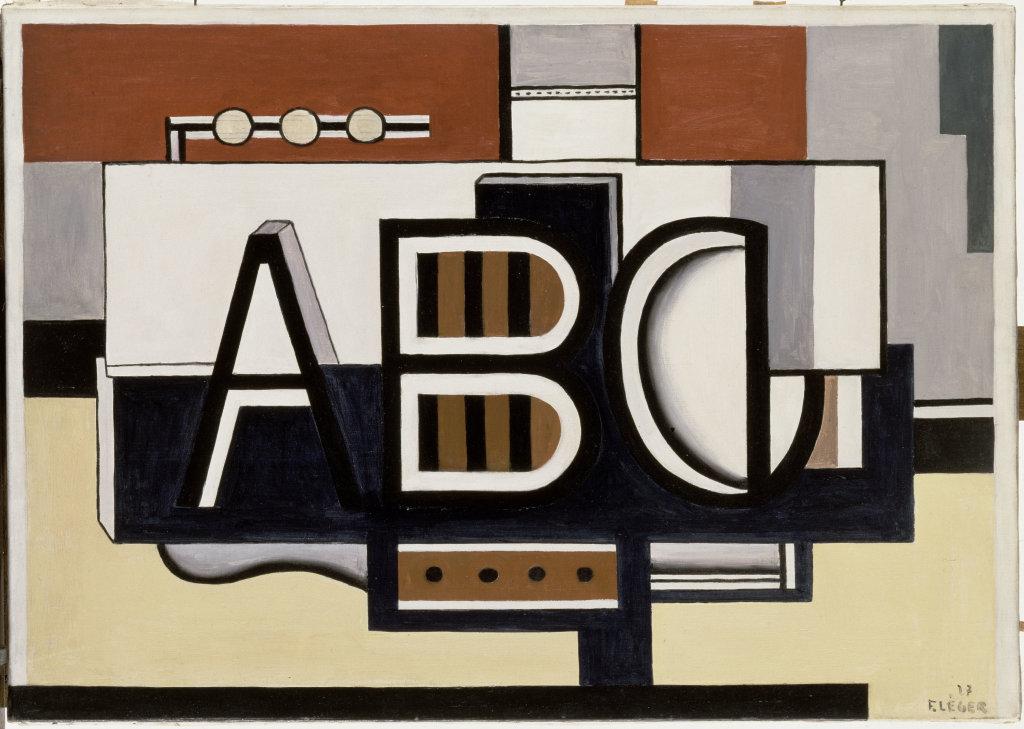 Fernand Leger, Nature morte, A.B.C., 1927 - Le Beau est partout, Fernand Leger au Centre Pompidou Metz