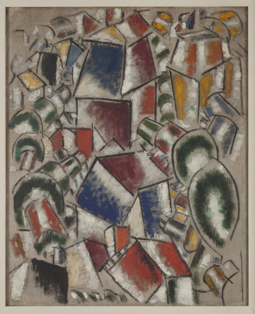 Fernand Leger, Paysage 2, 1913 - Le Beau est partout, Fernand Leger au Centre Pompidou Metz