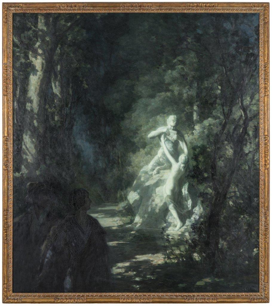 Francois Cachoud, L'Etrange clarte dans le parc, 1930 - Les Nuits Transfigurees au Musee des Beaux Arts de Chambery jusqu'au 17 septembre 2017