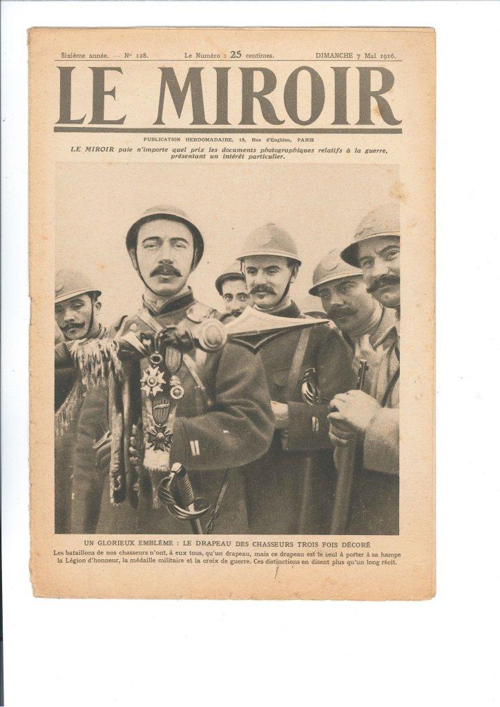 Le Miroir - 7 mai 1916 - couv - Photographes de Guerre, Depuis 160 ans que cherchent-ils au Memorial de Verdun