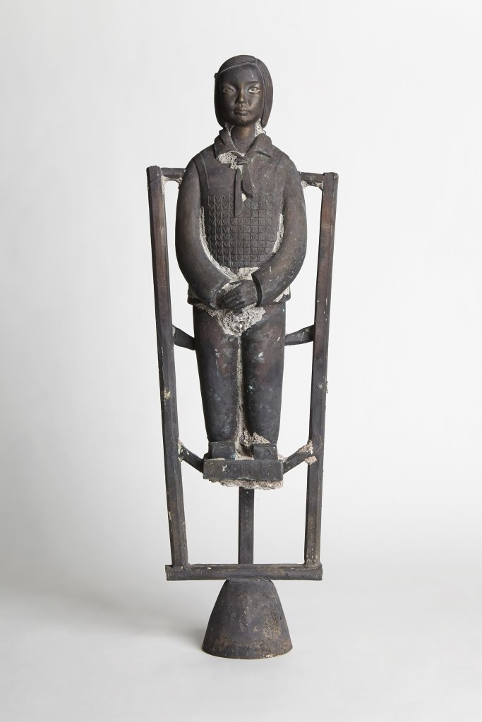 Mini Terracotta Daughter Tube #2 Pan, Prune Nourry, 2013 - Holy, Carte Blanche a Prune Nourry au Musee Guimet