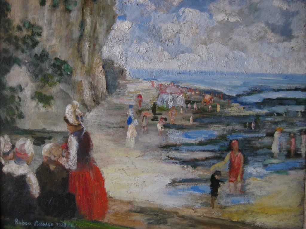 Roboa, La plage - Manzana et Roboan, un couple d'artiste a la Maison Ravier de Morestel