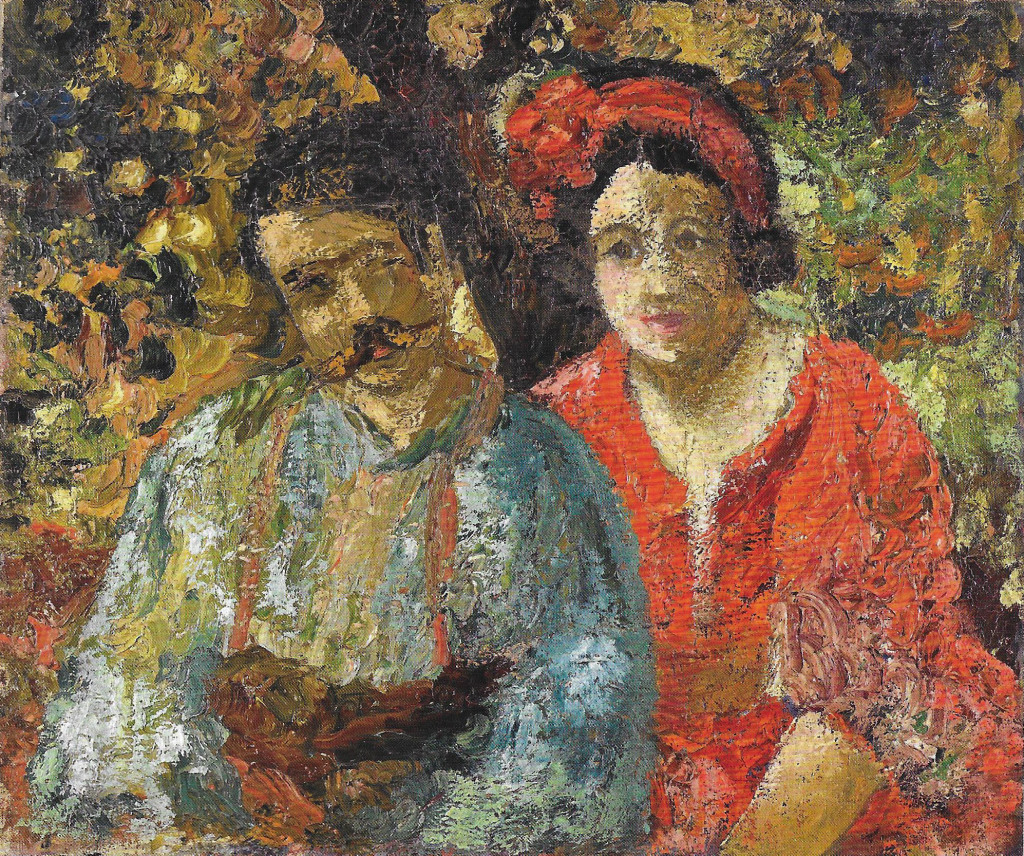Roboa, Roboa et Manzana Pissarro - Manzana et Roboan, un couple d'artiste a la Maison Ravier de Morestel