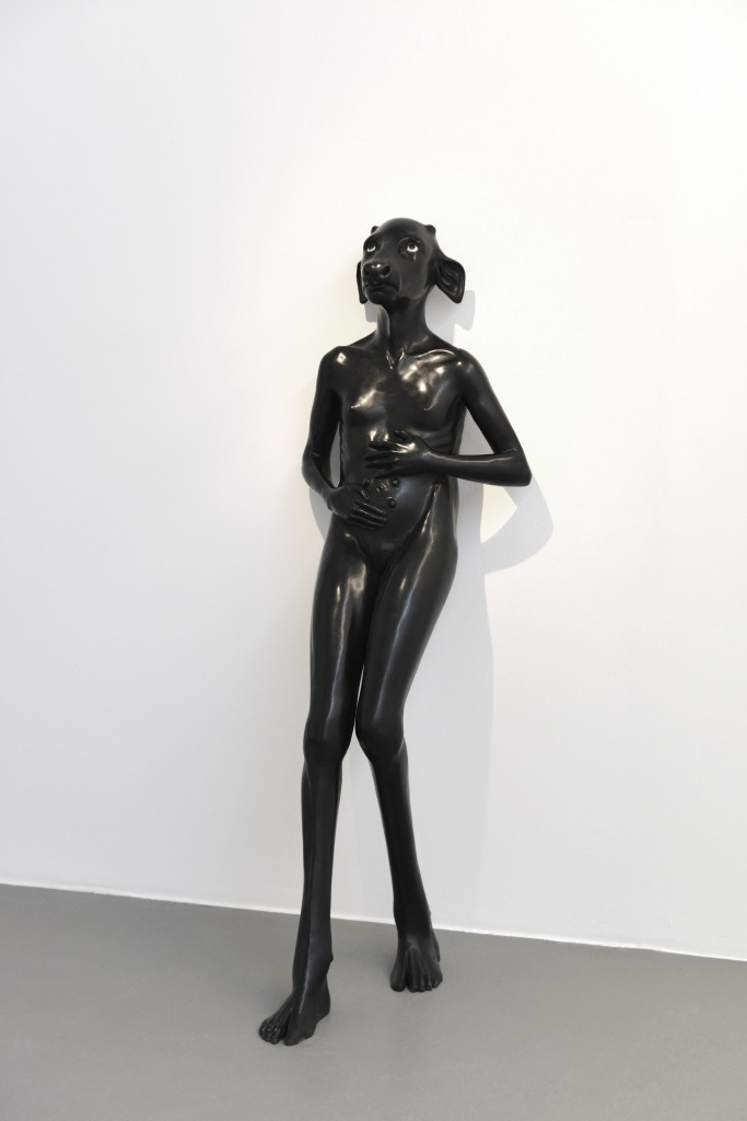 Standing Holy Daughter, Prune Nourry, 2010 - Holy, Carte Blanche a Prune Nourry au Musee Guimet