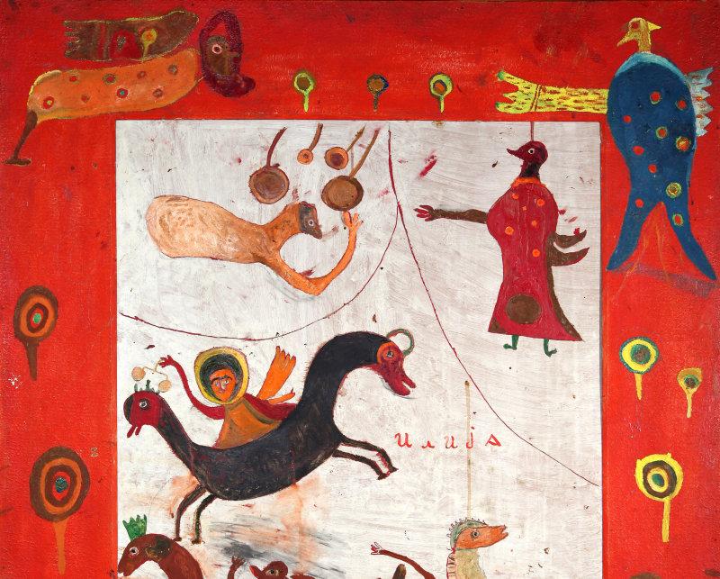 BOSILJ BASICEVIC Ilija, Les Cavaliers de l'Apocalypse 1966, Turbulences dans les Balkans, Halle Saint Pierre