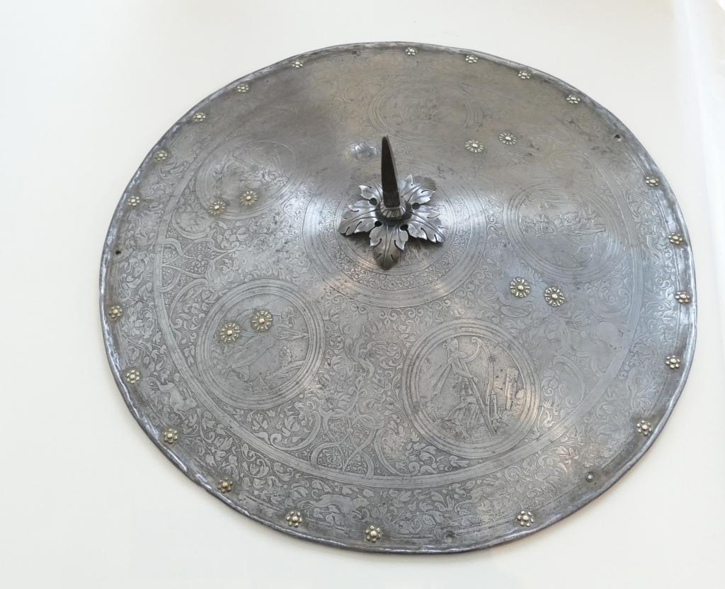 Rondache 1530.1550 Musée Mandet