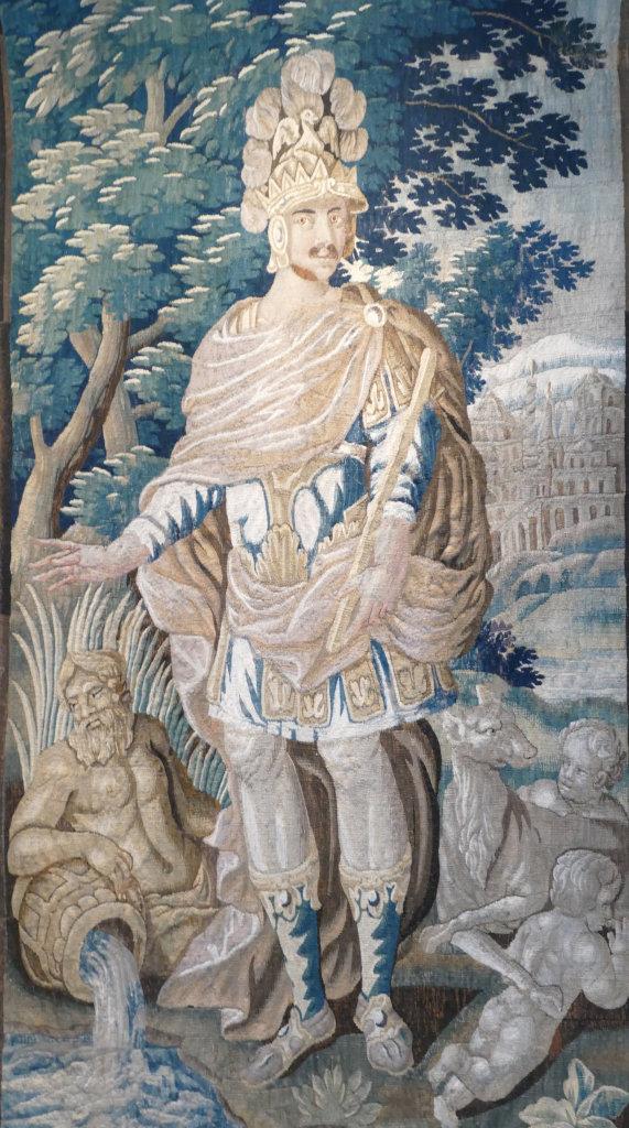 Tapisserie Alaric ou la Rome vaincue musée Mandet