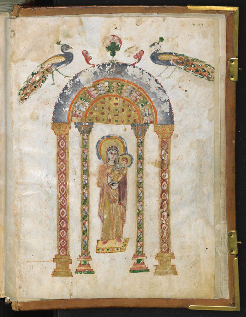 Evangiles de Rabbula, Syrie, IVe siècle, Chrétiens d'Orient, IMA