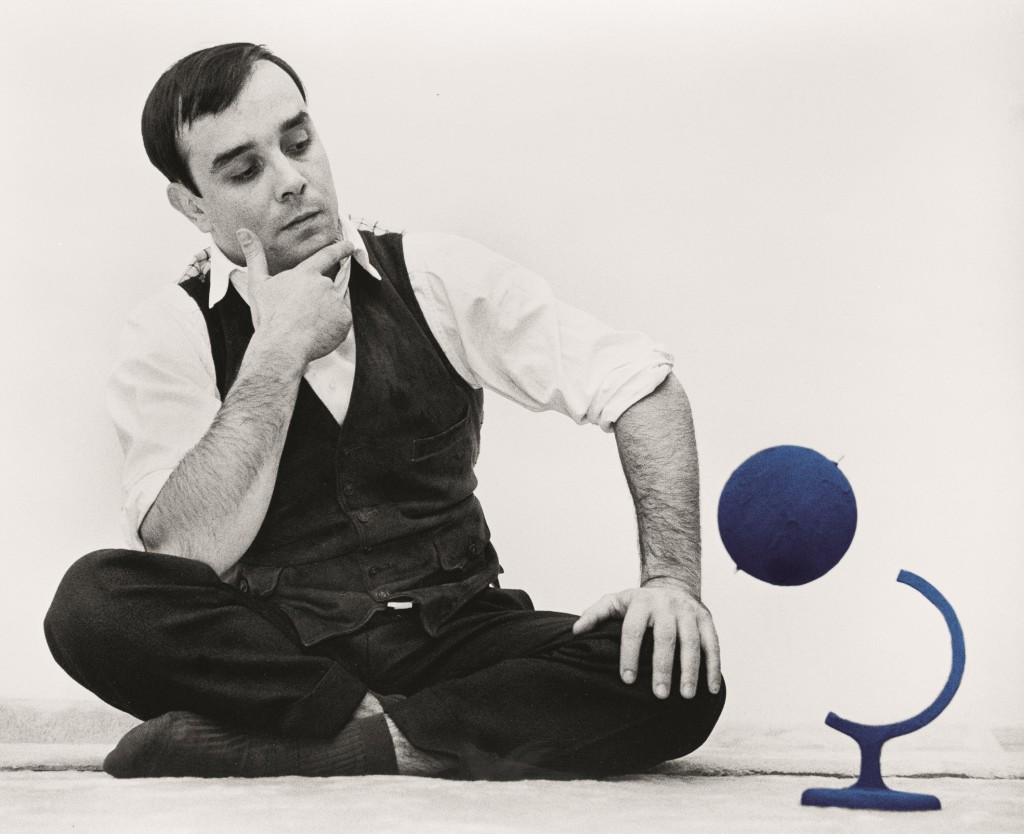 Yves Klein and the Blue Globe 14 rue Campagne-Première, Paris, 1961 Artwork