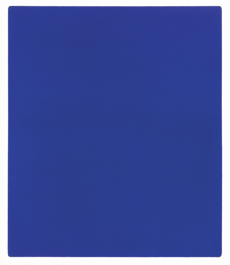 Monochrome Yves Klein, 1928-1962Untitled blue monochrome, (IKB 79) 1959