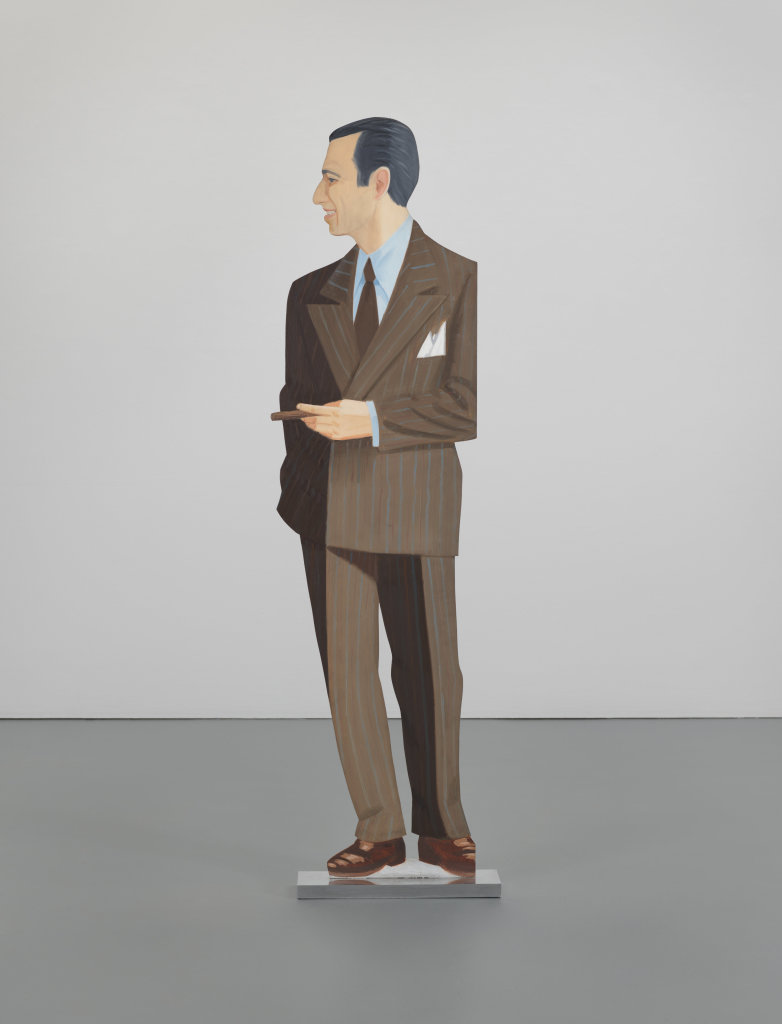 Alex Katz, Alex, 1968 - Exposition Pop Art, Icons that matter au Musée Maillol