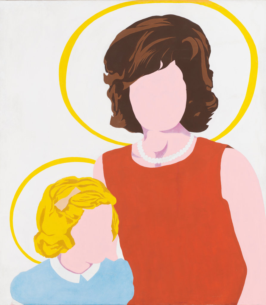 Allan D'Arcangelo, Madonna and Child, 1963 - Exposition Pop Art, Icons that matter au Musée Maillol