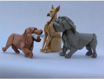 Atelier origami, musée Orangerie, Michel Charbonnier