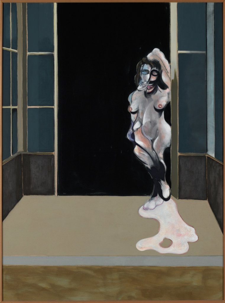 Bacon, Female Nude Standing in a Doorway, Face à face, musée Fabre