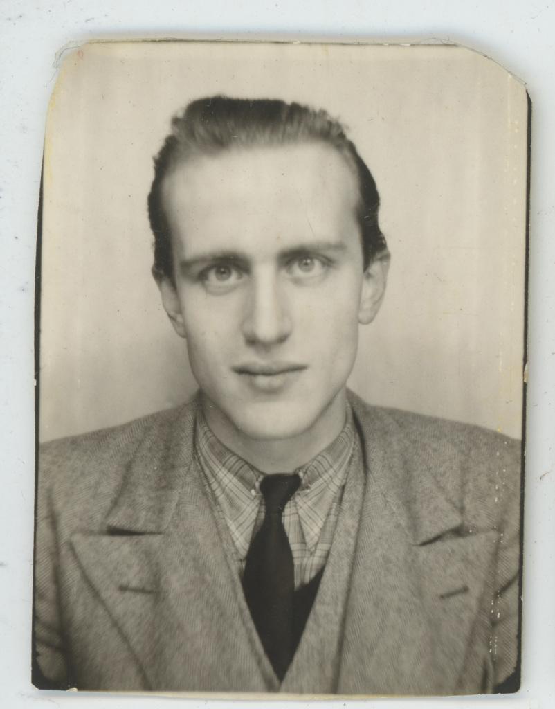 Boris Vian_Photomaton, 1942