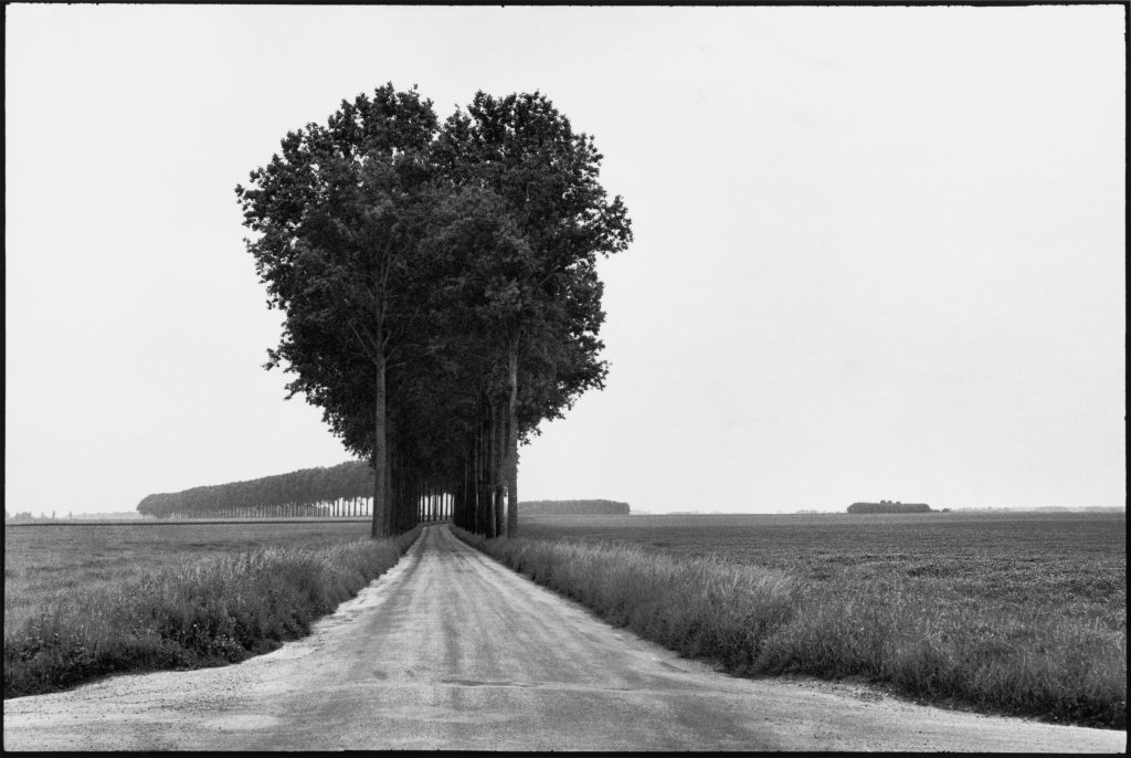 Henri Cartier-Bresson, Brie, France, Musée Yves Brayer