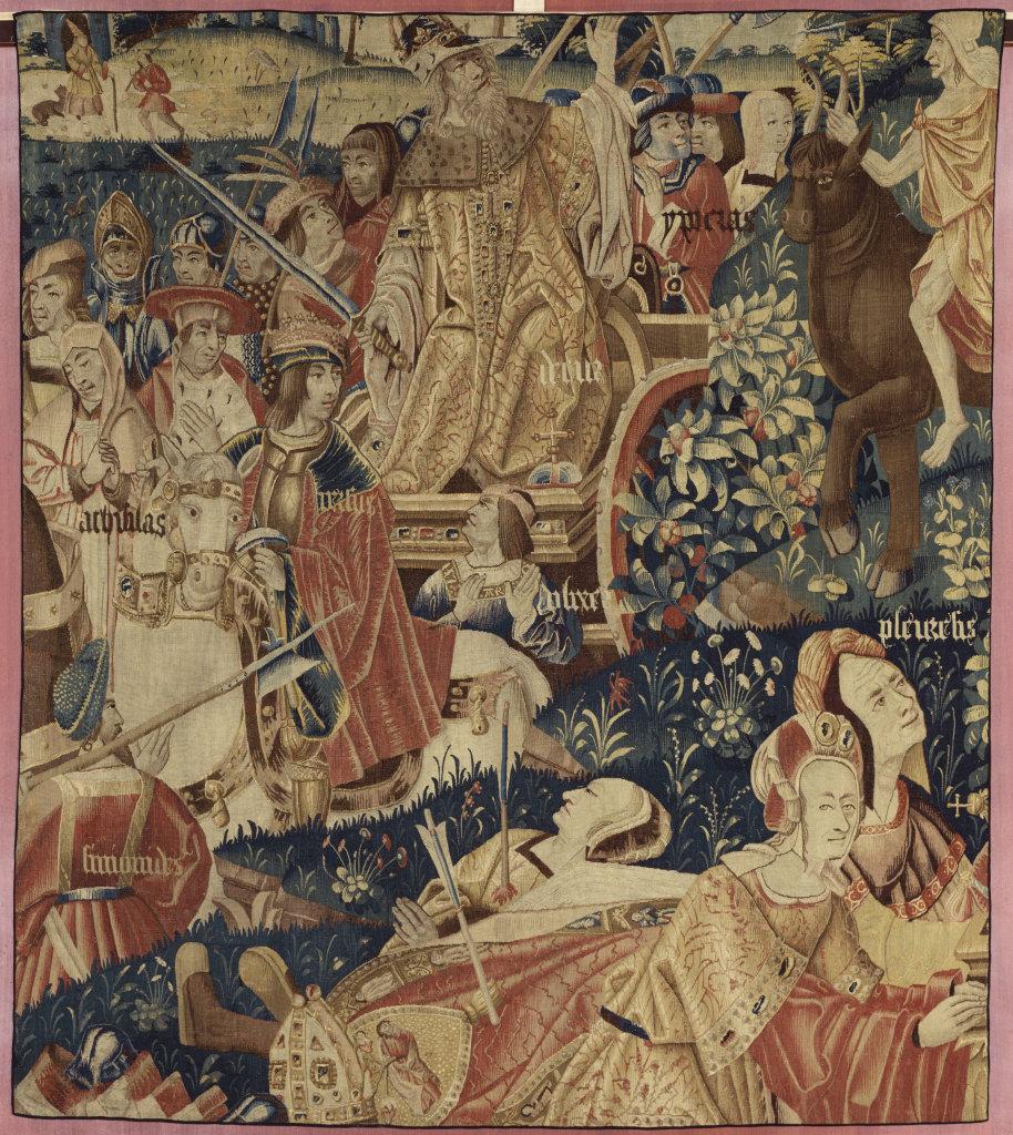 Scènes du Triomphe et de la Mort de l'Honneur