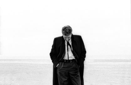 Claude Gassian, Leonard Cohen, Trouville 1988 - Leonard Cohen, Photographies de Claude Gassian a l'Institut Lumiere de Lyon