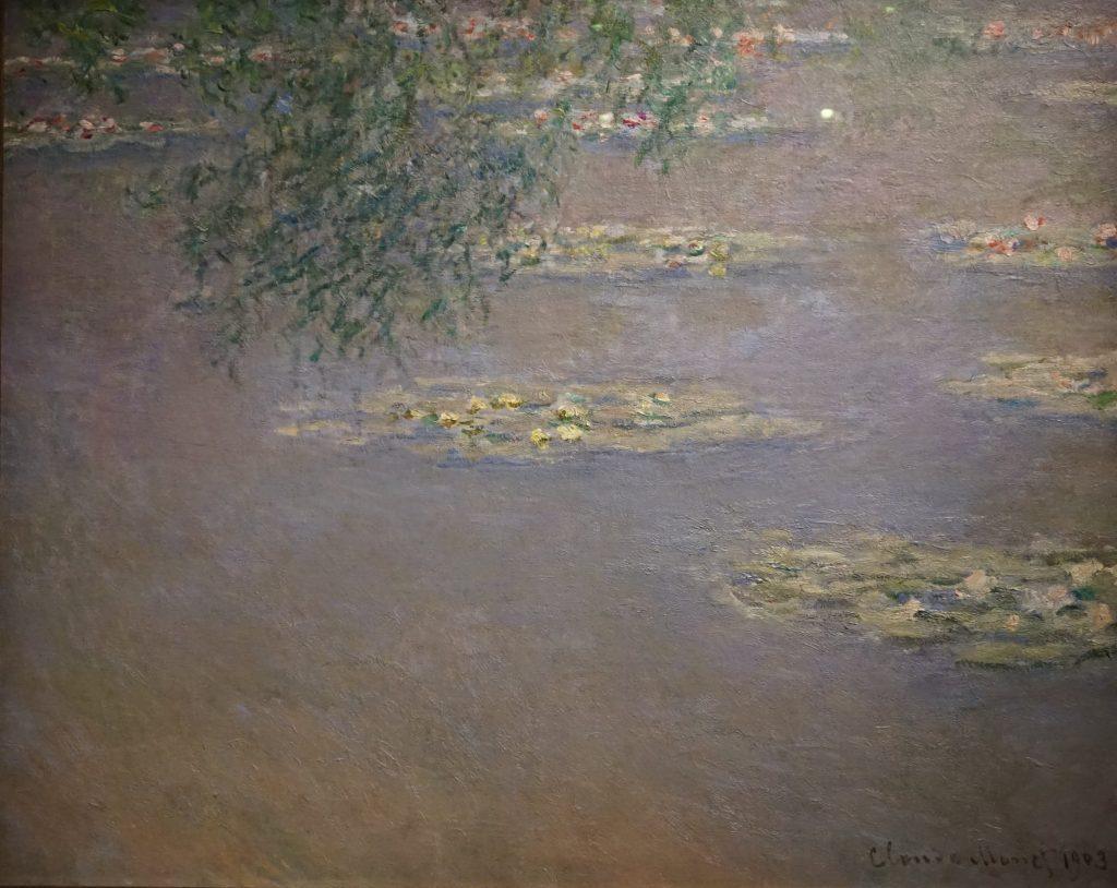 Claude Monet, Nympheas, 1903 - Tokyo-Paris, chefs d'oeuvre du Bridgestone Museum au Musee de l'Orangerie