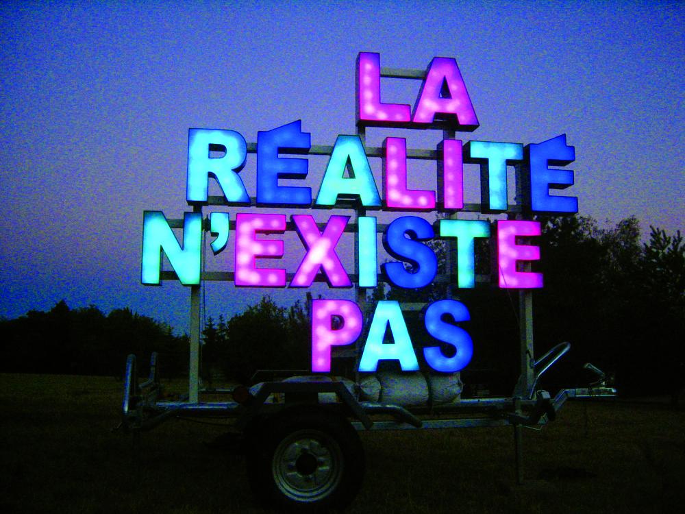 Collectif ALP, La réalité n'existe pas, Supra réel, Memento