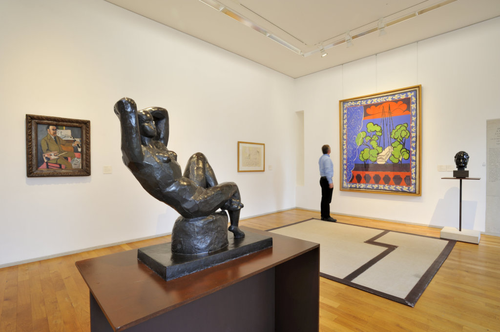 Vue d'ensemble d'une salle Matisse, coll musee Matisse, Le Cateau-Cambresis